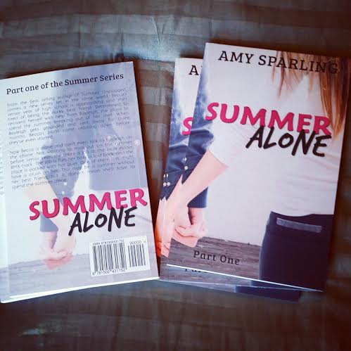 Book Blitz: Summer Alone by Amy Sparling + GIVEAWAY!!!