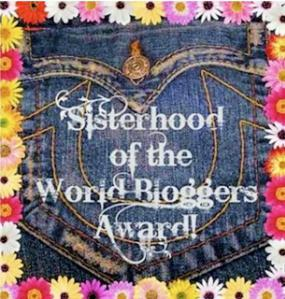 Sisterhood Of The World Bloggers Award #3!