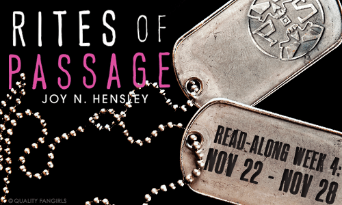 Book Review: Rites of Passage by Joy N Hensley!!!