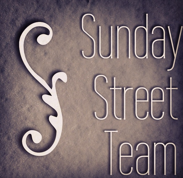 Sunday Street Team- October Authors!