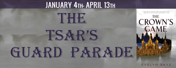 Blog Tour: The Tsar's Guard~ Visual Representations of the Characters of The Crown's Game by Evelyn Skye!