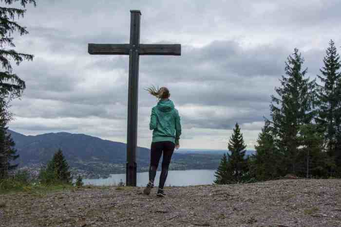 Easy hike in Tegernsee: hiking trail to Riederstein - belongs to the Top 10 hiking trails at Tegernsee from my point of view