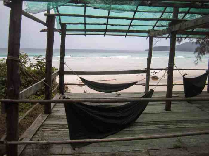 Secret island in Southeast Asia: Koh Rong - the lonely beach of Koh Rong belongs to my personal Top 10 beaches in Southeast Asia.
