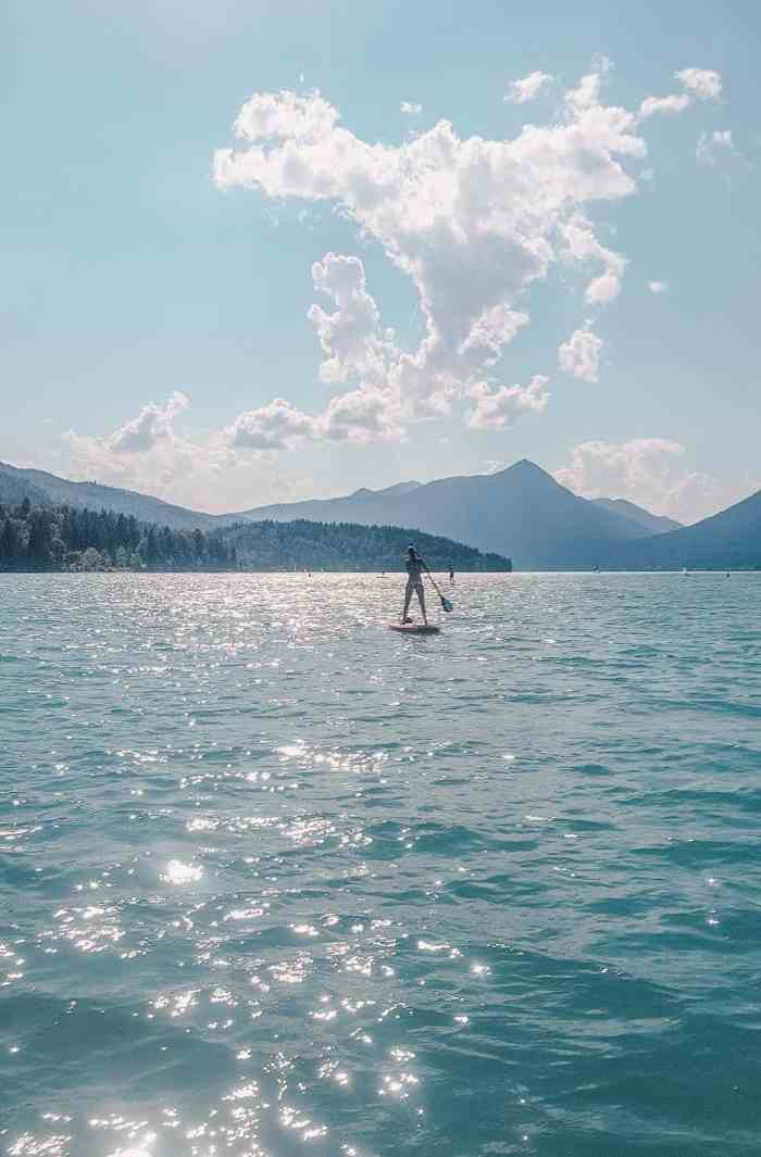 Best lakes to swim in Bavaria - Walchensee