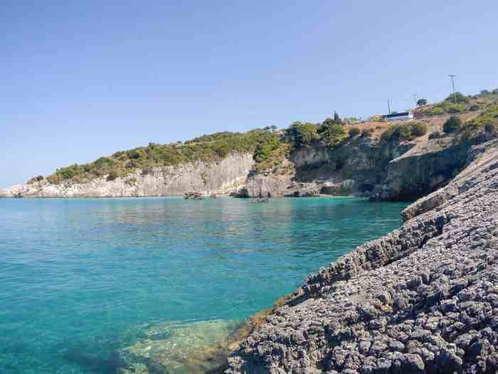 Best beaches of Zakynthos, secret beaches of Zakynthos: Xigia beach