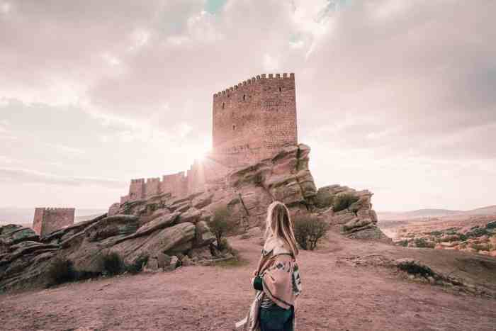 Game of Thrones road trip in Spain: Castle of Zafra, Tower of Joy