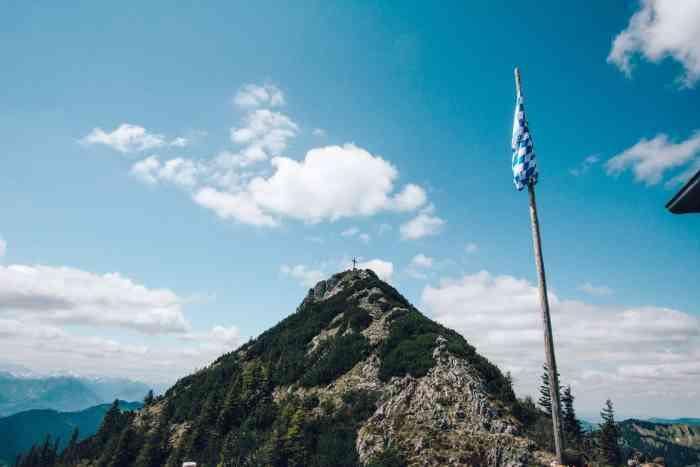 Beste Wanderungen in Bayern - Tegernseer Hütte