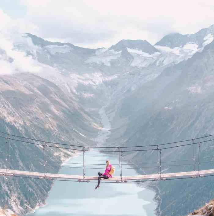 Wie man zu der spektakulären Hängebrücke in Österreich kommt?