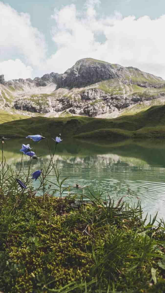 hike Schrecksee swimming
