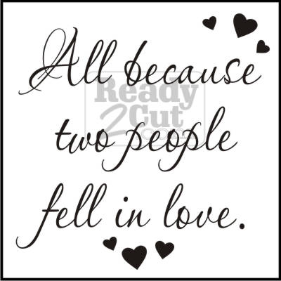 Download All Because Two People Fell in Love - Tile Script - vector ...