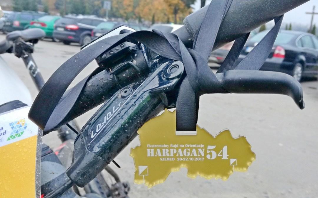 Harpagan 54 czyli ekstremalny rajd na orientację i rowerowa trasa TR50