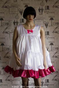 Reign Bow Sissy PVC Dress JUL16-9