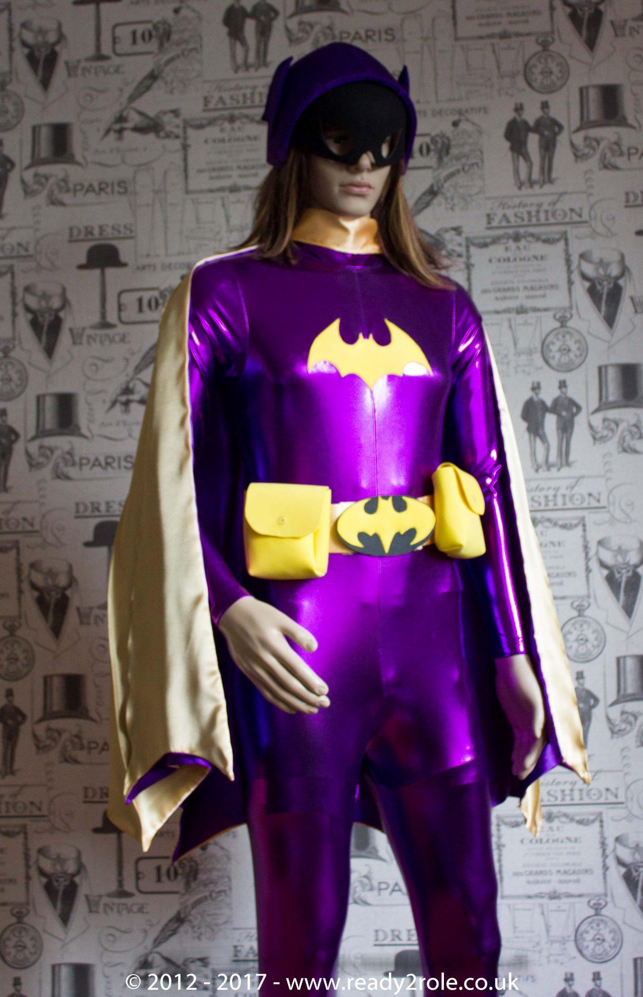 Classic Bat Girl Style Costume