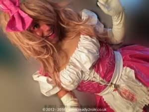 Heidi PVC Sissy Dress - Dolly