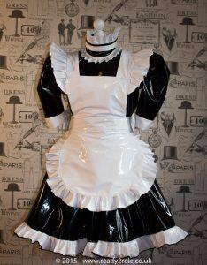 Hi Alice Even More PVC Maids Dress 1