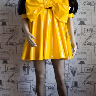 """The """"Bow Kay"""" Sissy Dress in PVC – Ask About Colour Options 1"""