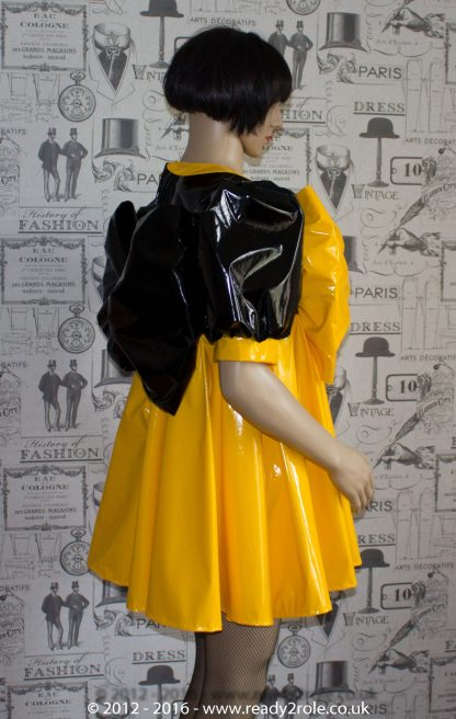 """The """"Bow Kay"""" Sissy Dress in PVC – Ask About Colour Options 7"""