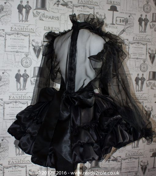 The Dee Bowie – Satin & Organza Dress With Bows & Ruffles – Ask About Colours 2