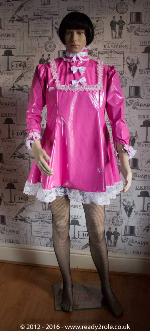 "The ""Fleur"" PVC Dress – Ask About Colour, Fabric and/or locking Options 3"
