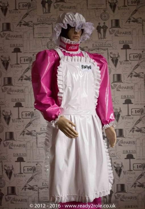 """The """"April"""" Hobbler PVC Dress – Ask About Colour Options 3"""