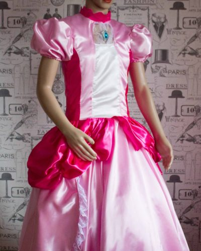 Princess Peach – Custom Creation in Satin 1