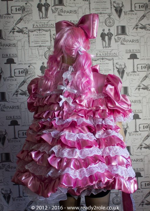 """""""Liquid Lola"""" Sissy Satin Outfit – Ask About Colour Choices – Each Order is Hand Crafted to Your Sizes 4"""