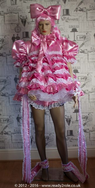 """""""Liquid Lola"""" Sissy Satin Outfit – Ask About Colour Choices – Each Order is Hand Crafted to Your Sizes 1"""