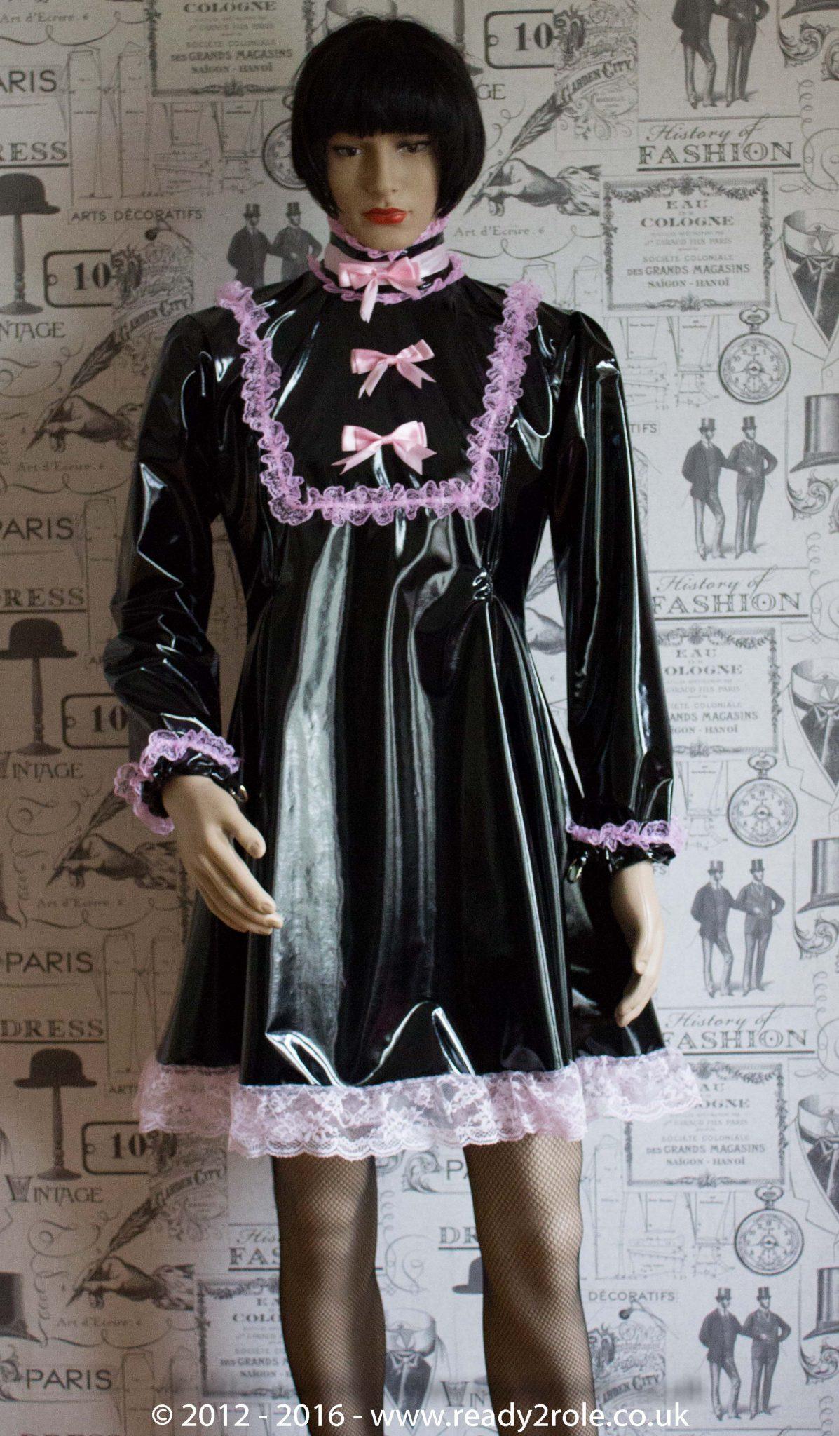 """The """"Fleur"""" PVC Dress – Ask About Colour, Fabric Options"""