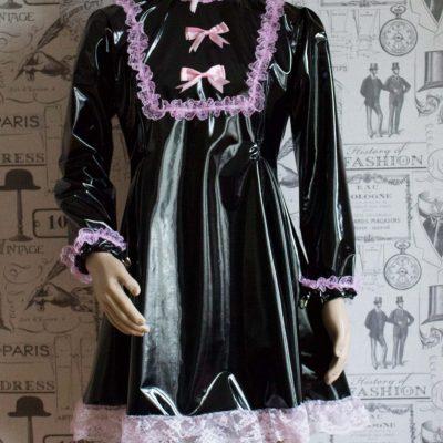 """The """"Fleur"""" PVC Dress – Ask About Colour, Fabric Options 1"""