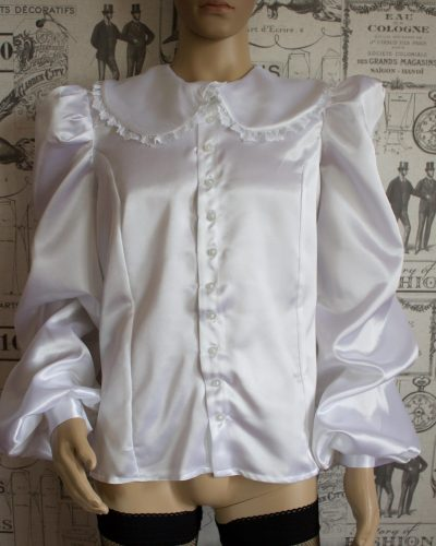 Sissy Satin Blouse – Ask About Colour Choices 1