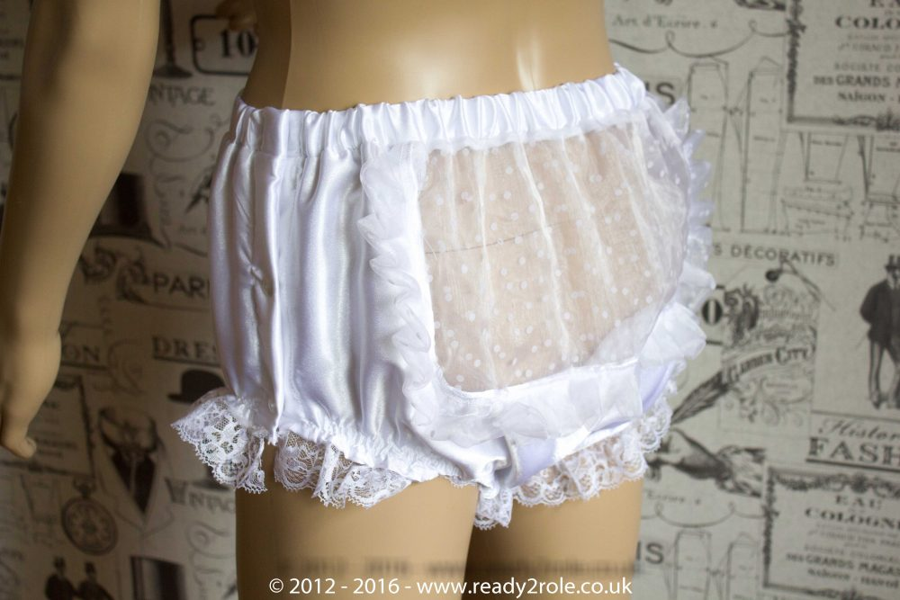 Sissy Satin Panties with Side Popper Fastening – Ask About Colour and Fabric Options