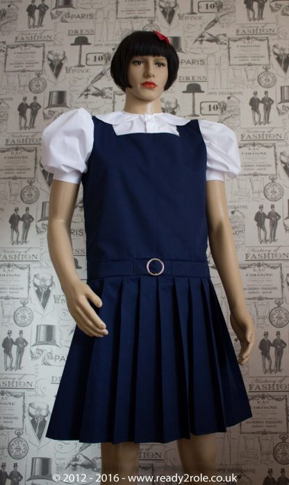 Adult School Uniform Dresses – Pinafore Style Knife Pleat Skirt 3