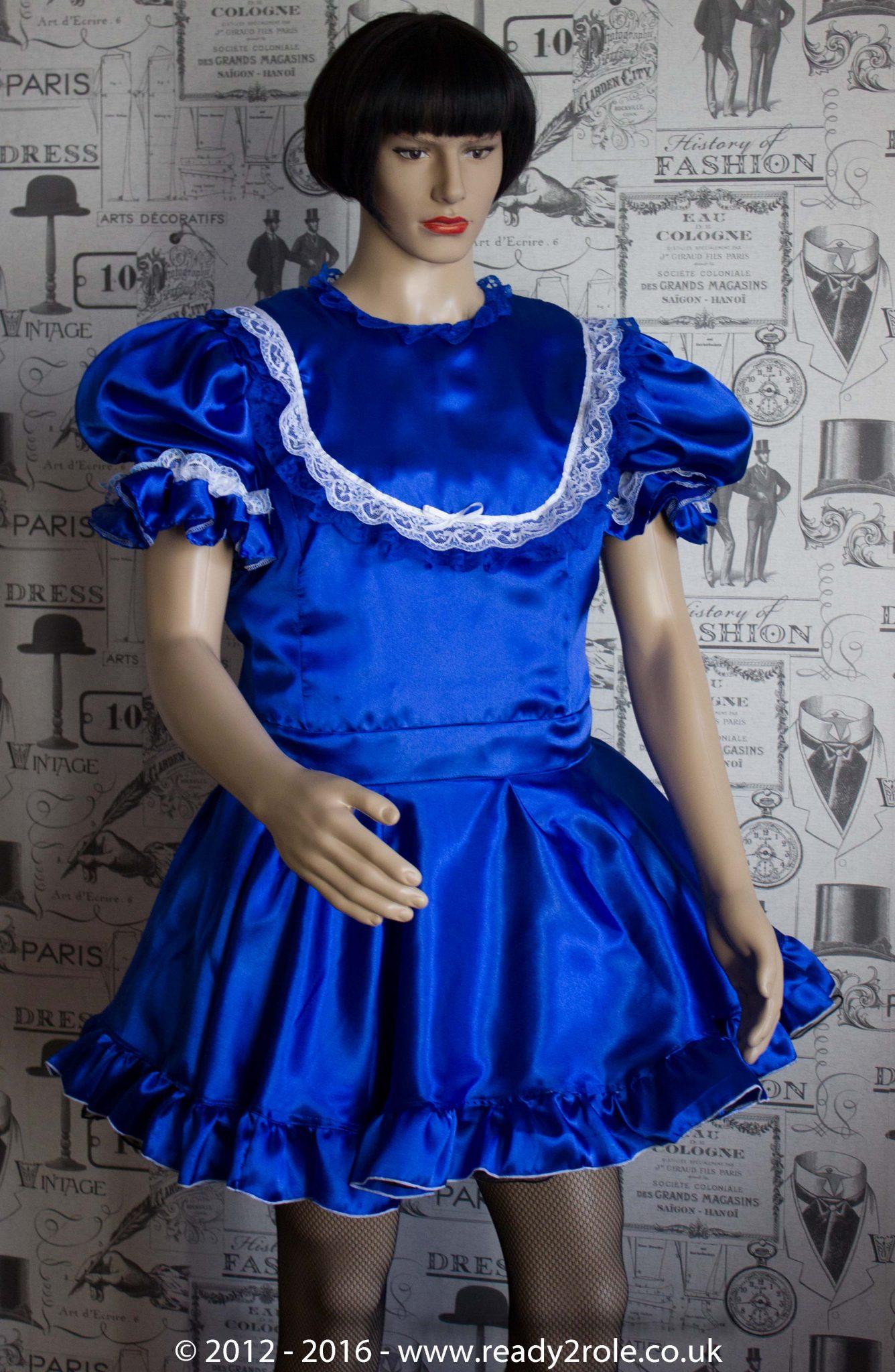 """Princess Starre"" Sissy Satin Dress"