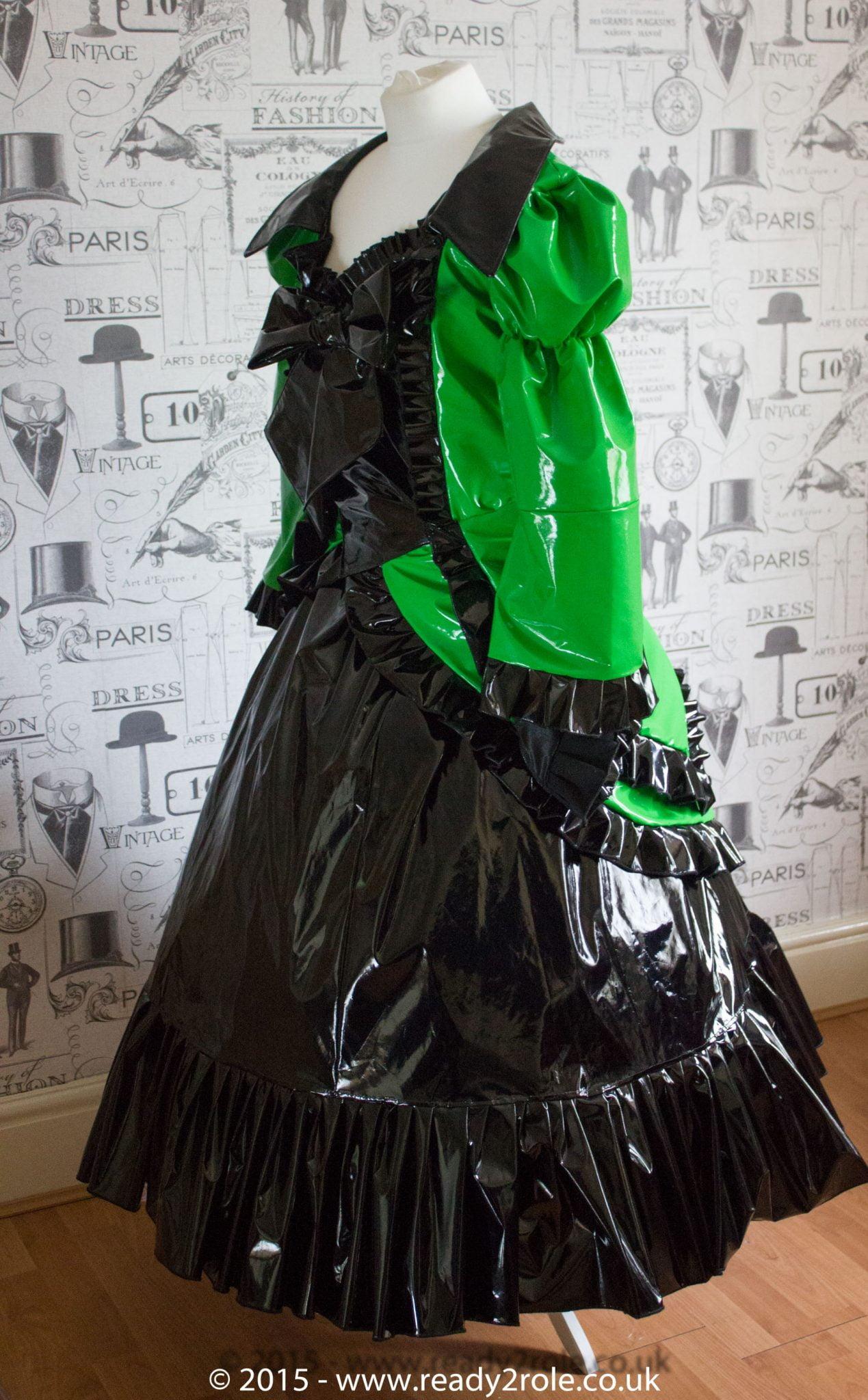 Antoinette Custom PVC Dress