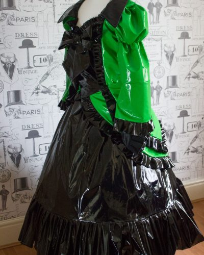 Antoinette COSplay Custom PVC Dress 1