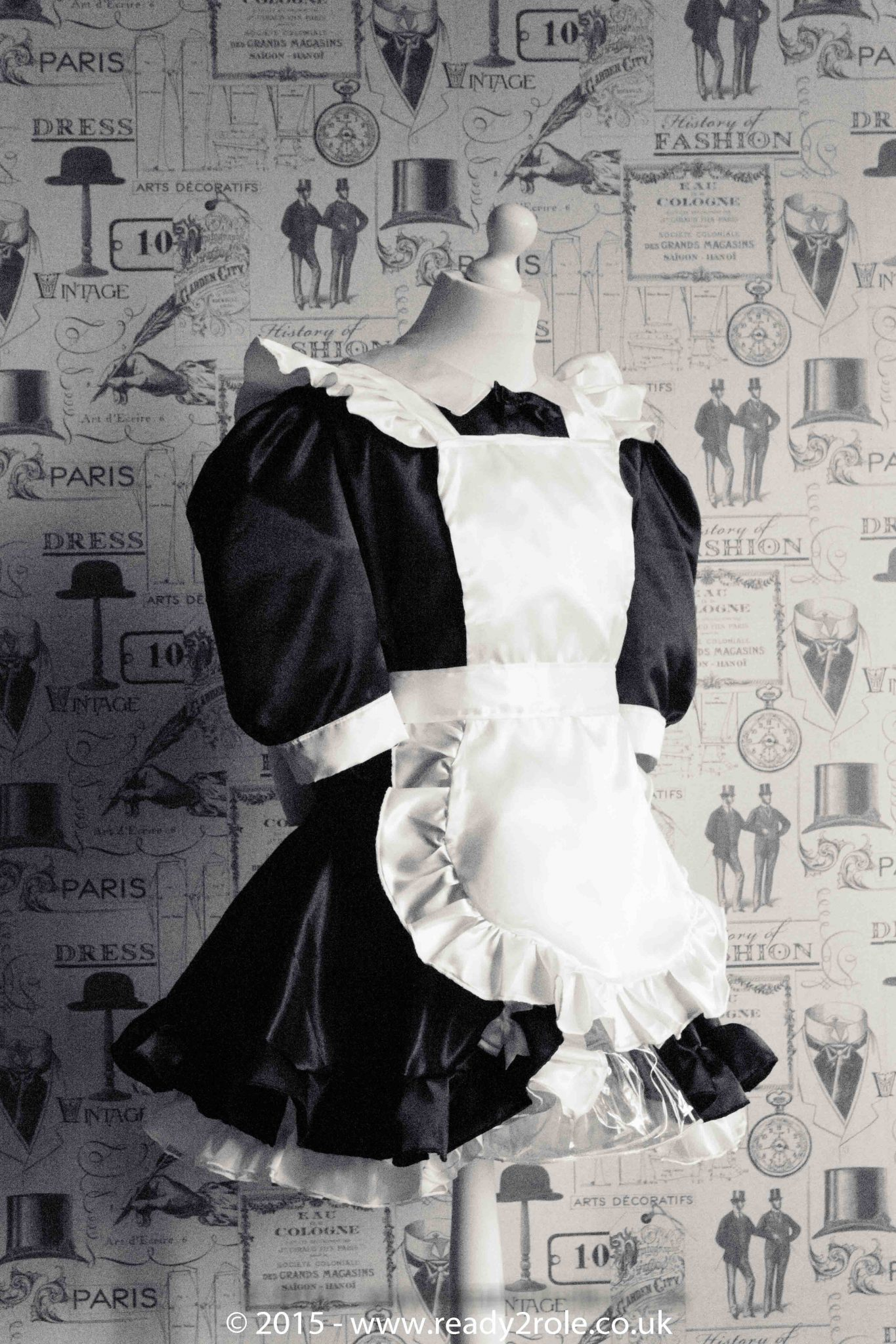Maid Bow Peek – Sissy Maids Dress