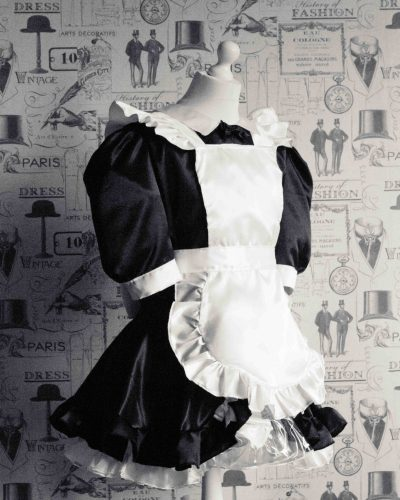 Maid Bow Peek – Sissy Maids Dress 1