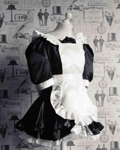 Maid Bow Peek – Sissy Maids Dress 1