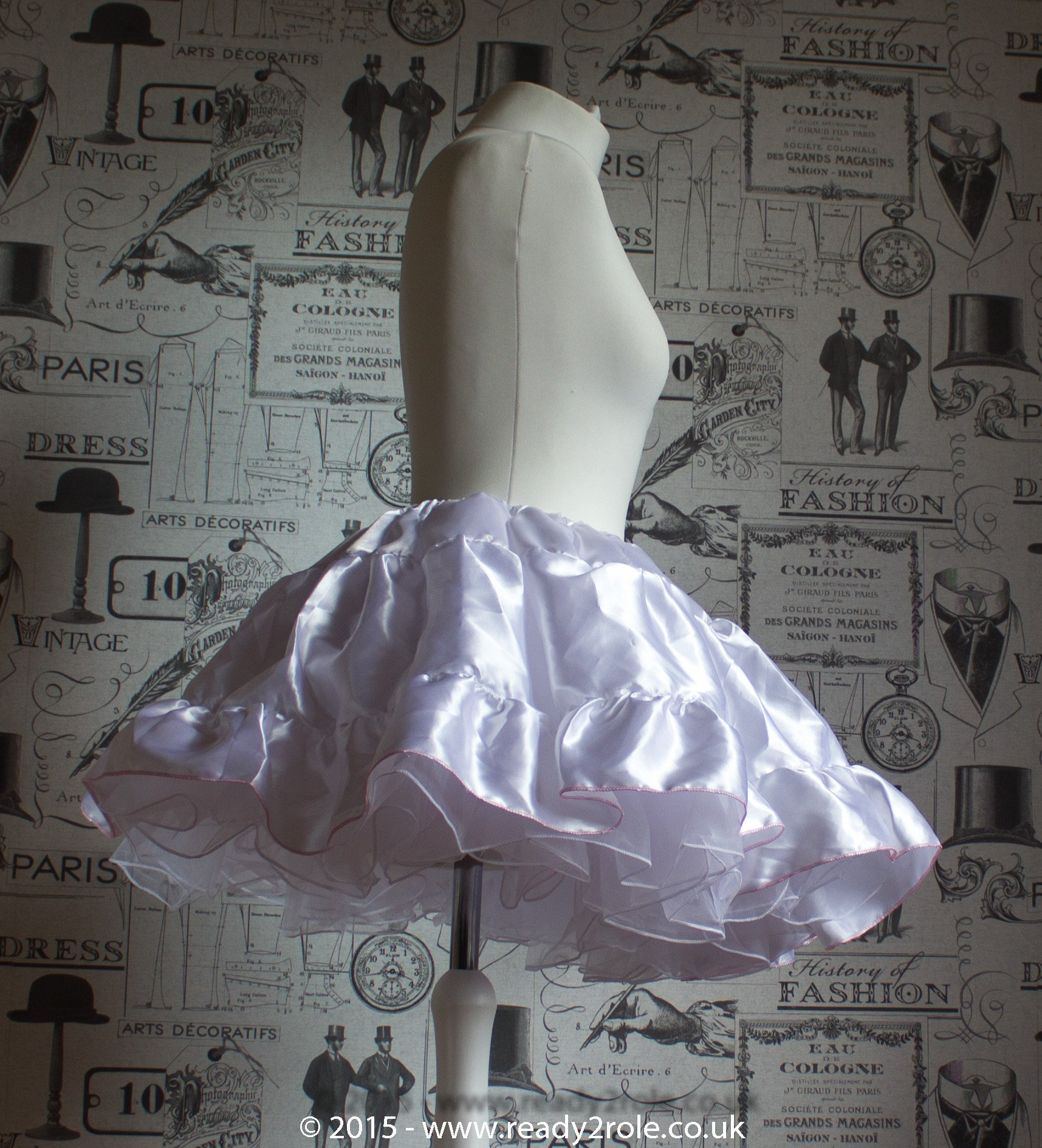 Sissy Frilly Hand Crafted Petticoat – Above knee length