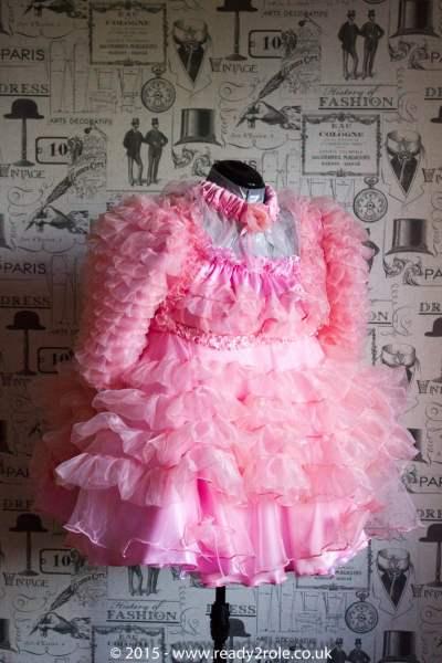 Krystal Prissy Sissy Organza Dress 1