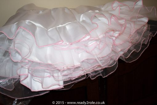 Sissy Frilly Hand Crafted Petticoat – Longer Length 2