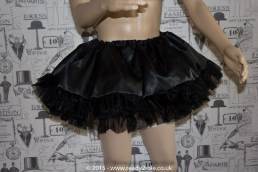 Mitzi – Sissy Satin & Organza Dress – In Pink Here But Ask About Other Colour Choices 6
