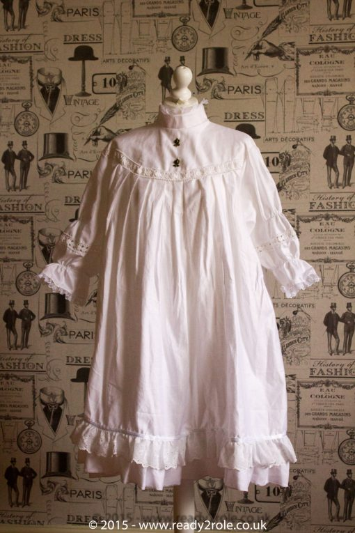 Victorian Smock Dress in Cotton 3