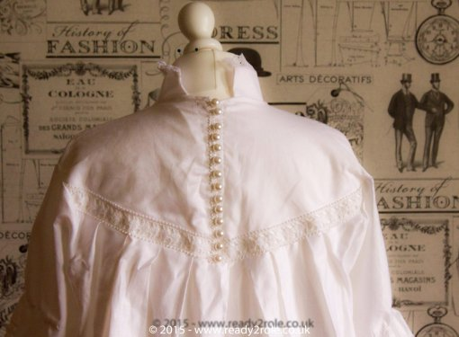 Victorian Smock Dress in Cotton 2