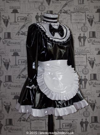 Lucy Locket – Sissy PVC Maids Dress 1