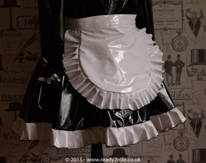 """The """"Lucy Locket"""" Sissy Lockable PVC Dress – Ask About Colour Choices – Hand Made to Any Size 3"""