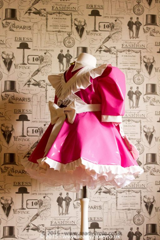 Baby Doll Alice PVC Maids Dress 2