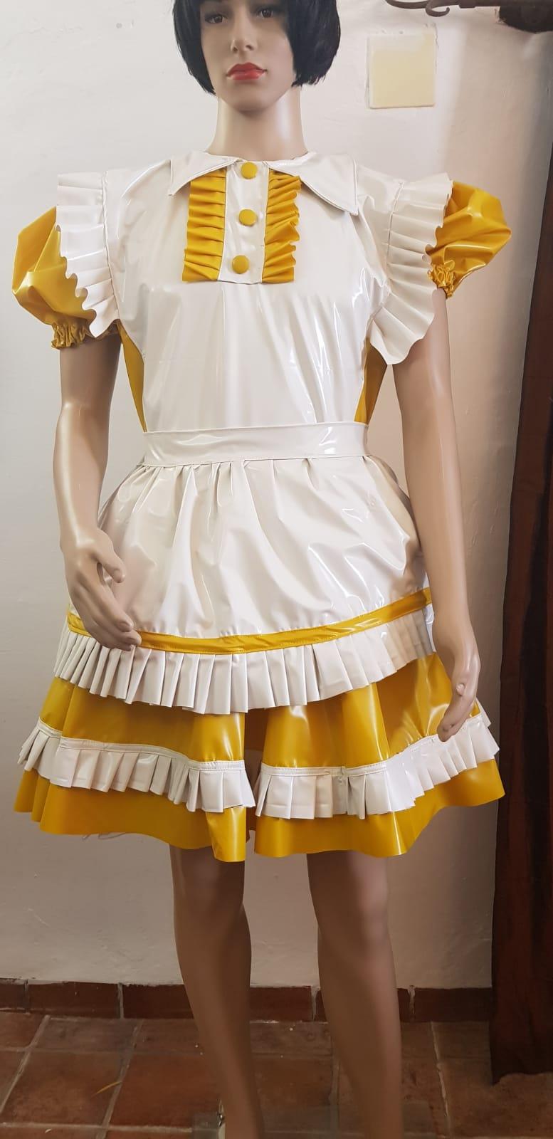 Tracy – Sissy Dress In PVC or Satin