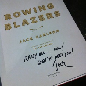 My copy of the book signed by Jack.
