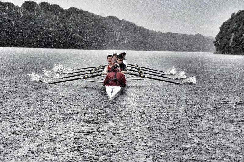 What to wear: Coxing in the rain